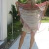 Strandkleid mit Stola
