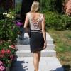 Kleid rose-schwarz 3