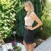 Kleid rose-schwarz 5