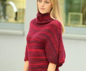 Warmer Woll-Poncho